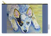 Cattle Dog Puppy Carry-all Pouch