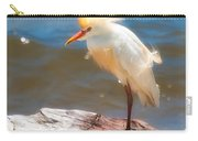 Cattle Egret In Breeding Plumage Carry-all Pouch
