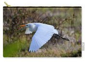 Cattle Egret In Flight Carry-all Pouch