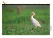 Cattle Egret In Greenery Carry-all Pouch