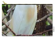 Rainbow Bill Cattle Egret Carry-all Pouch