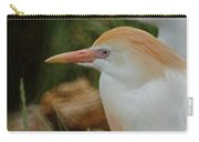 Cattle Egrets Dry Brushed Carry-all Pouch