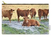 Cattle Siesta Carry-all Pouch
