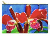 Cattleya Orchids Flowers #215 Carry-all Pouch
