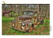Caught Behind 1947 Ford Stakebed Pickup Truck Art Carry-all Pouch