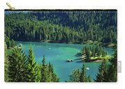 Caumasee Lake Switzerland Carry-all Pouch