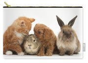 Cavapoo Pup, Rabbit, Guinea Pig Carry-all Pouch