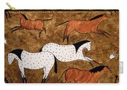 Cave Horses Carry-all Pouch