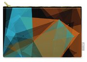 Cave Polygon Pattern Carry-all Pouch