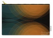 Cave Semi Circle Background Horizontal Carry-all Pouch