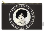Cecely Bloom Deco Portrait Carry-all Pouch
