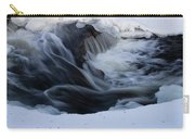 Cedar Creek During Winter Carry-all Pouch