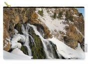Cedar Creek Falls Winter Carry-all Pouch