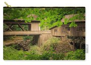 Cedar Creek Mill And Covered Bridge Carry-all Pouch