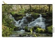 Cedar Mills Falls After Snowfall, Oregon Carry-all Pouch