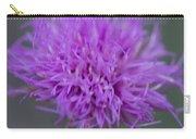 Cedar Park Texas Purple Thistle Carry-all Pouch