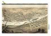 Cedar Rapids Iowa 1868 Carry-all Pouch