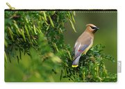 Cedar Waxwing #1 Carry-all Pouch