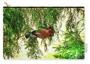 Cedar Waxwing Beauties 19 Carry-all Pouch