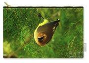 Cedar Waxwing Beauties 9 Carry-all Pouch