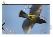 Cedar Waxwing In Flight Carry-all Pouch