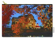 Cedarburg Mill At Night Carry-all Pouch