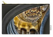 Ceiling And Chandelier In Bellagio Carry-all Pouch