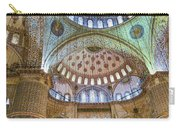 Ceiling Of Blue Mosque Carry-all Pouch