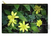 Celandine Flowers Carry-all Pouch
