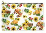 Celebrate Abundance Harvest Half Drop Repeat Carry-all Pouch
