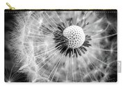 Celebration Of Nature In Black And White Carry-all Pouch