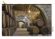 Cellar With Wine Barrels Carry-all Pouch