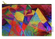 Cellophane Geometry Carry-all Pouch