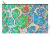 Cells 11 - Abstract Painting  Carry-all Pouch