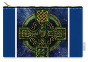 Celtic Cross - Harp Carry-all Pouch