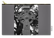 Celtic Cross In Emmet Park Carry-all Pouch