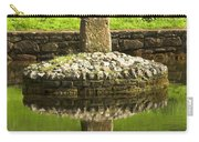 Ancient Celtic Cross At St Patrick Well Carry-all Pouch