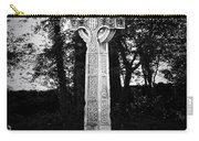 Celtic Cross In Killarney Ireland Carry-all Pouch by Teresa Mucha