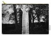 Celtic Cross In Killarney Ireland Carry-all Pouch