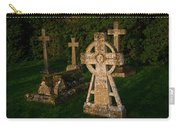 Celtic Cross St Divids Church 3 Carry-all Pouch