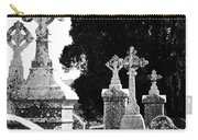 Celtic Crosses At Fuerty Cemetery Roscommon Ireland Carry-all Pouch