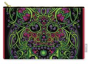 Celtic Day Of The Dead Skull Carry-all Pouch