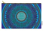 Celtic Dragonfly Mandala Carry-all Pouch