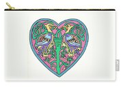 Celtic Heart Carry-all Pouch
