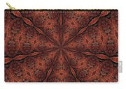 Celtic Ribbons Tile K7-2 Bronze Carry-all Pouch