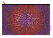 Celtic Romeo And Juliet Carry-all Pouch