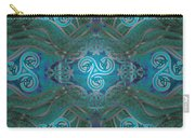 Celtic Snakes Mandala Carry-all Pouch