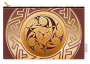 Celtic Spiral And Key Pattern Carry-all Pouch