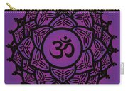 Celtic Tribal Crown Chakra Carry-all Pouch