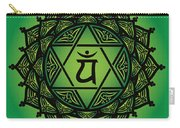 Celtic Tribal Heart Chakra Carry-all Pouch